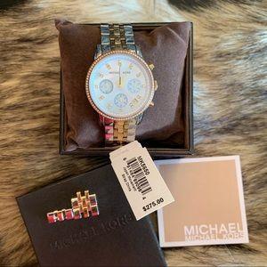 MICHAEL KORS Tri-tone Watch